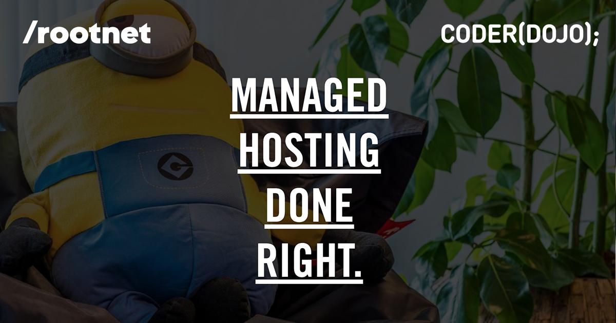 Rootnet Sponsort CoderDojo